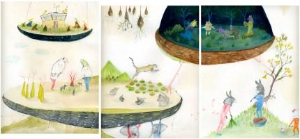 illustrations chosen for mostra degli ilustratori. bologna book fair 2o12