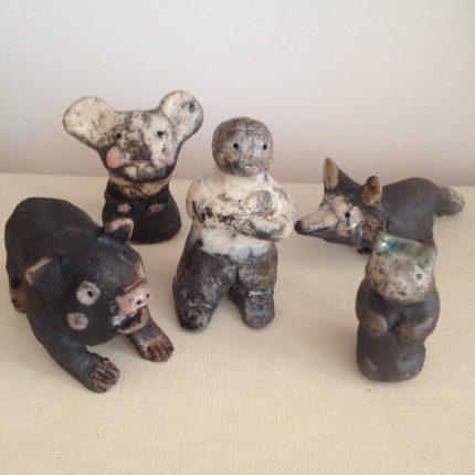 raku figures